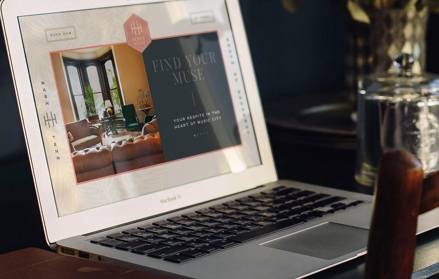 Proof Branding UI Design Henrie House